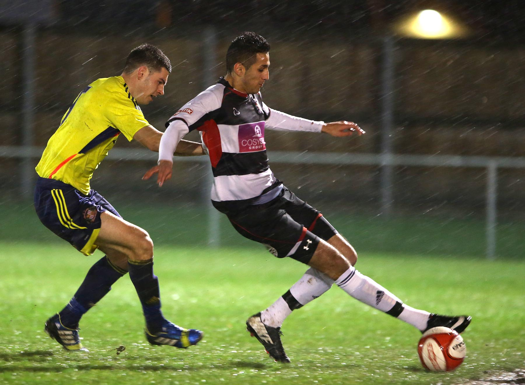 IN FORM: Amar Purewal scored his third goal in two games