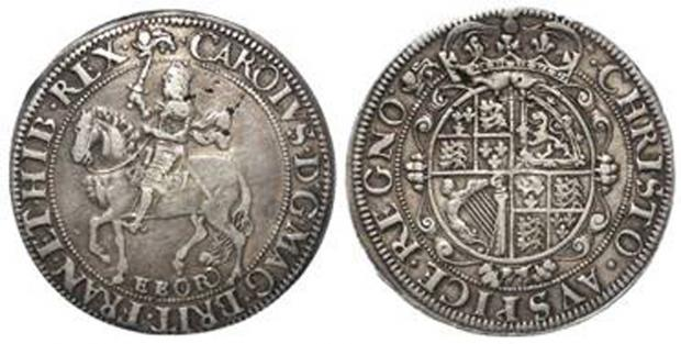 Darlington and Stockton Times: Two of the coins