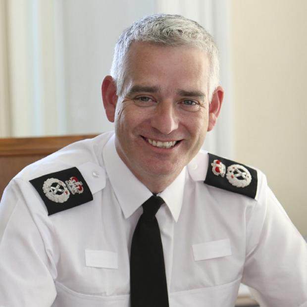 Darlington and Stockton Times: Chief Constable Dave Jones.