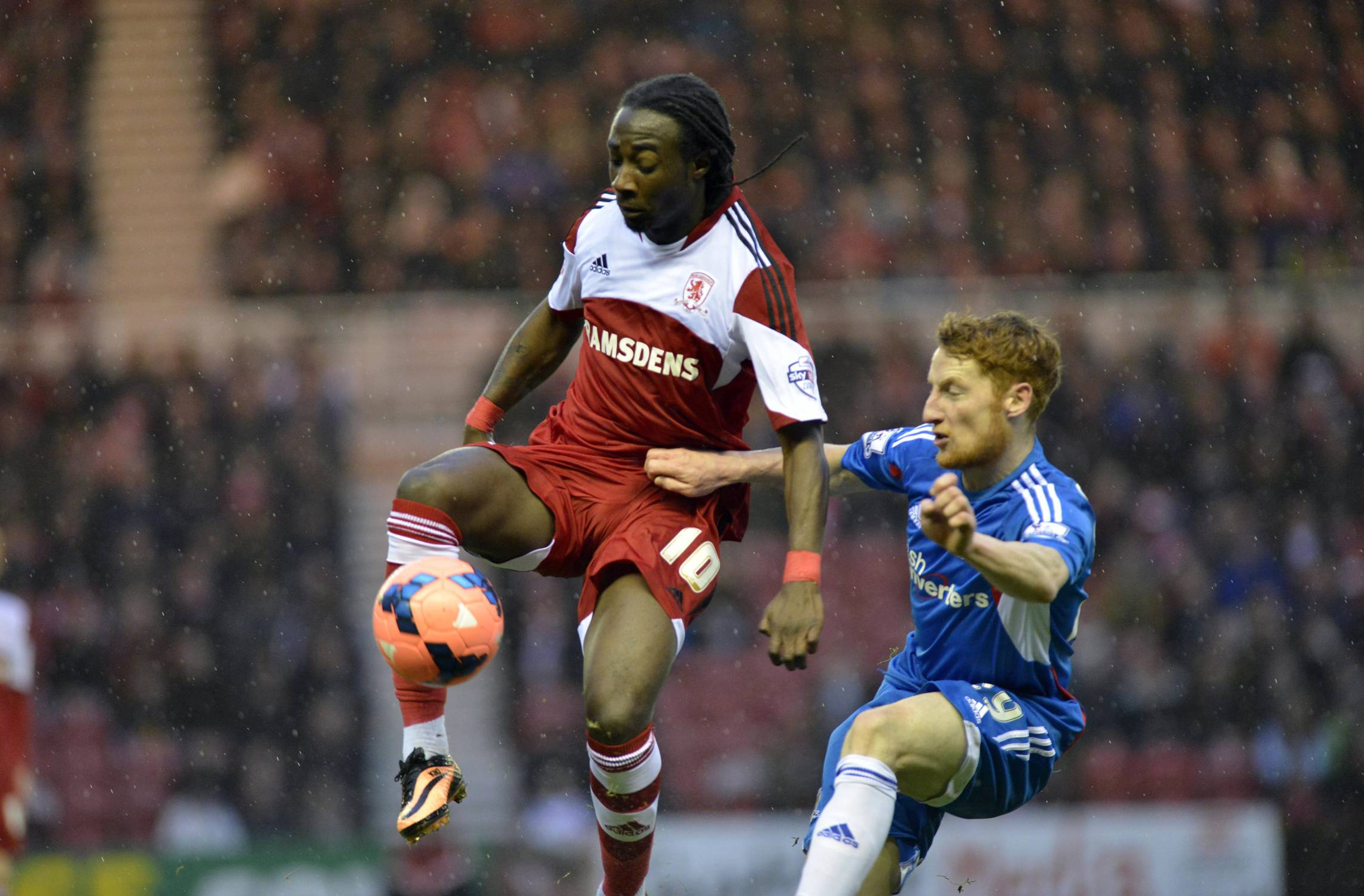 Emnes out, with Tomlin and Graham in at Boro