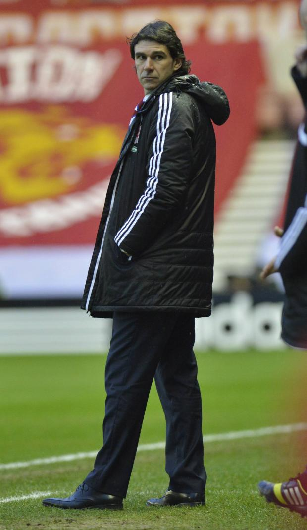 Darlington and Stockton Times: IN CHARGE: Aitor Karanka will have the final say over all incomings and outgoings at Middlesbrough this month