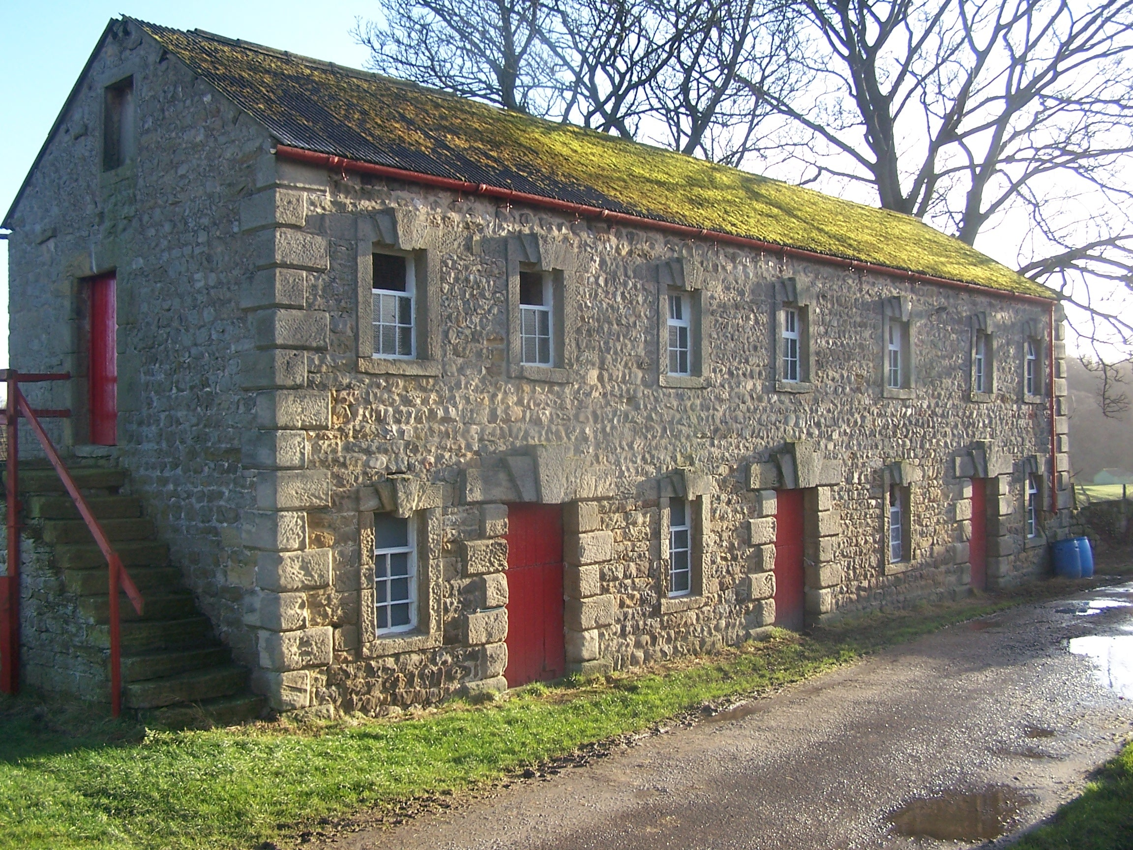 CONSERVATION CALL: The extraordinary stable block at Nutwith Cote farm, near Masham
