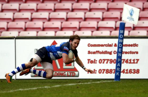SUPERB FORM: Chris McTurk proved an inspiration for Mowden Park last Saturday