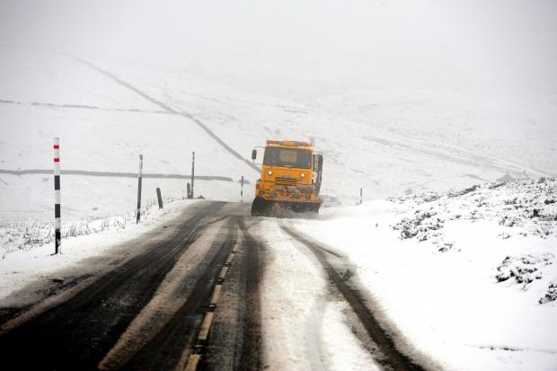 Darlington and Stockton Times: VALUED SERVICE: Winter gritting named among public's priorities