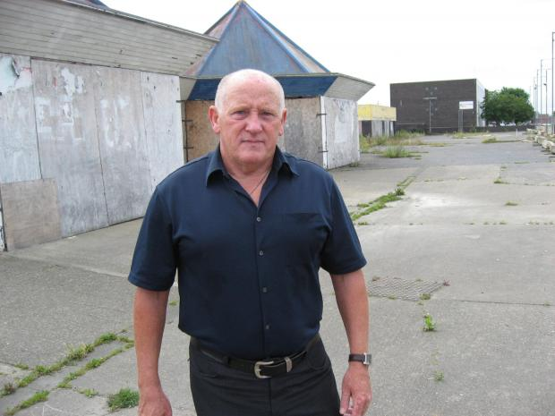 DAY OF ANGER: Leader of Thornaby Independent Association, Councillor Steve Walmsley