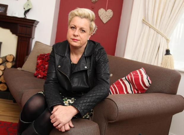 Darlington and Stockton Times: DEVASTATED: Sharon Hyde