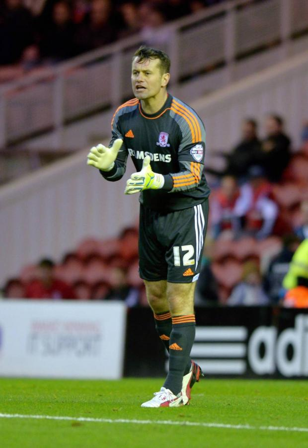 Darlington and Stockton Times: STAY OR GO? Shay Given has enjoyed his loan spell at Boro and it is due to expire on February 22