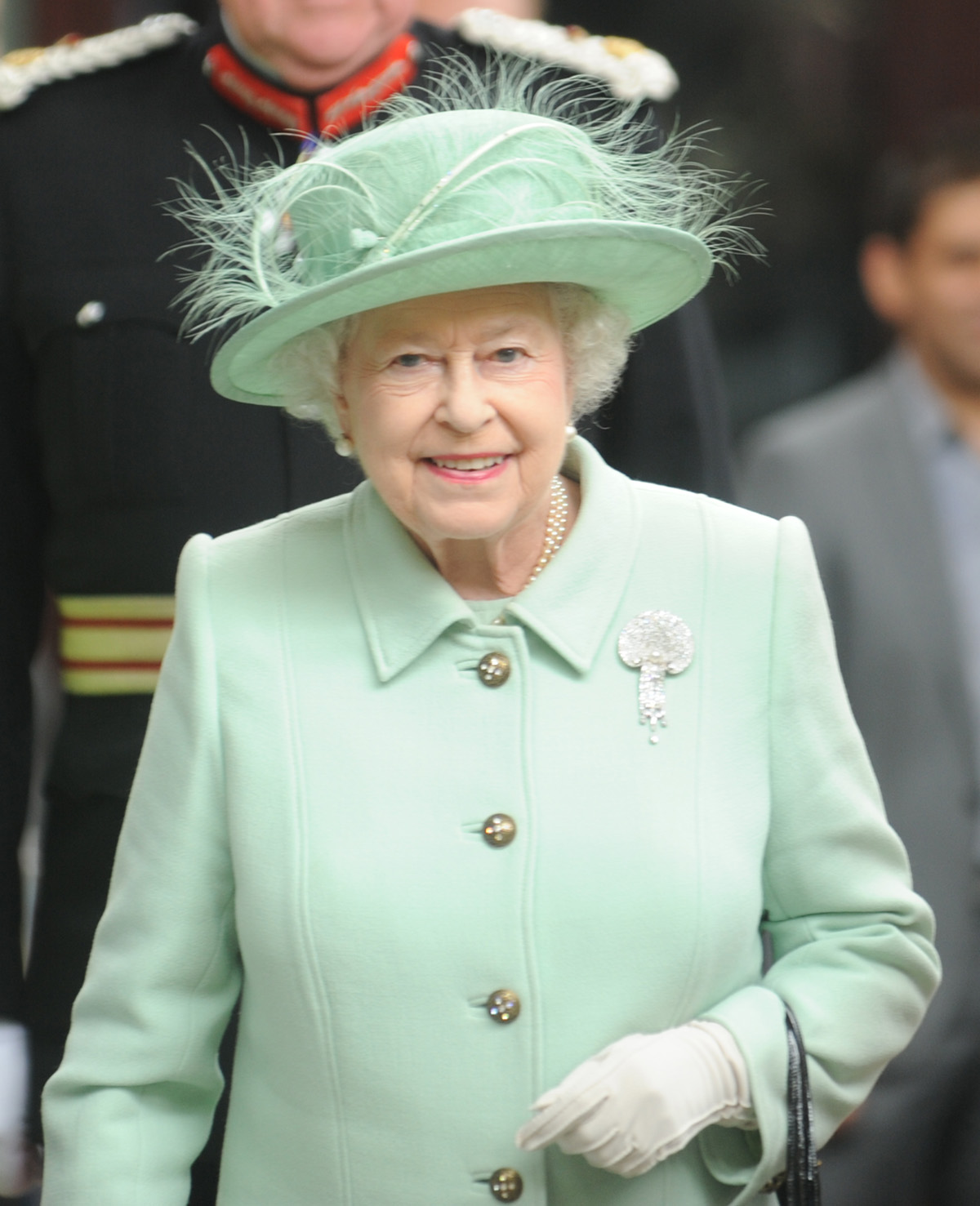 The Queen, head of the Commonwealth