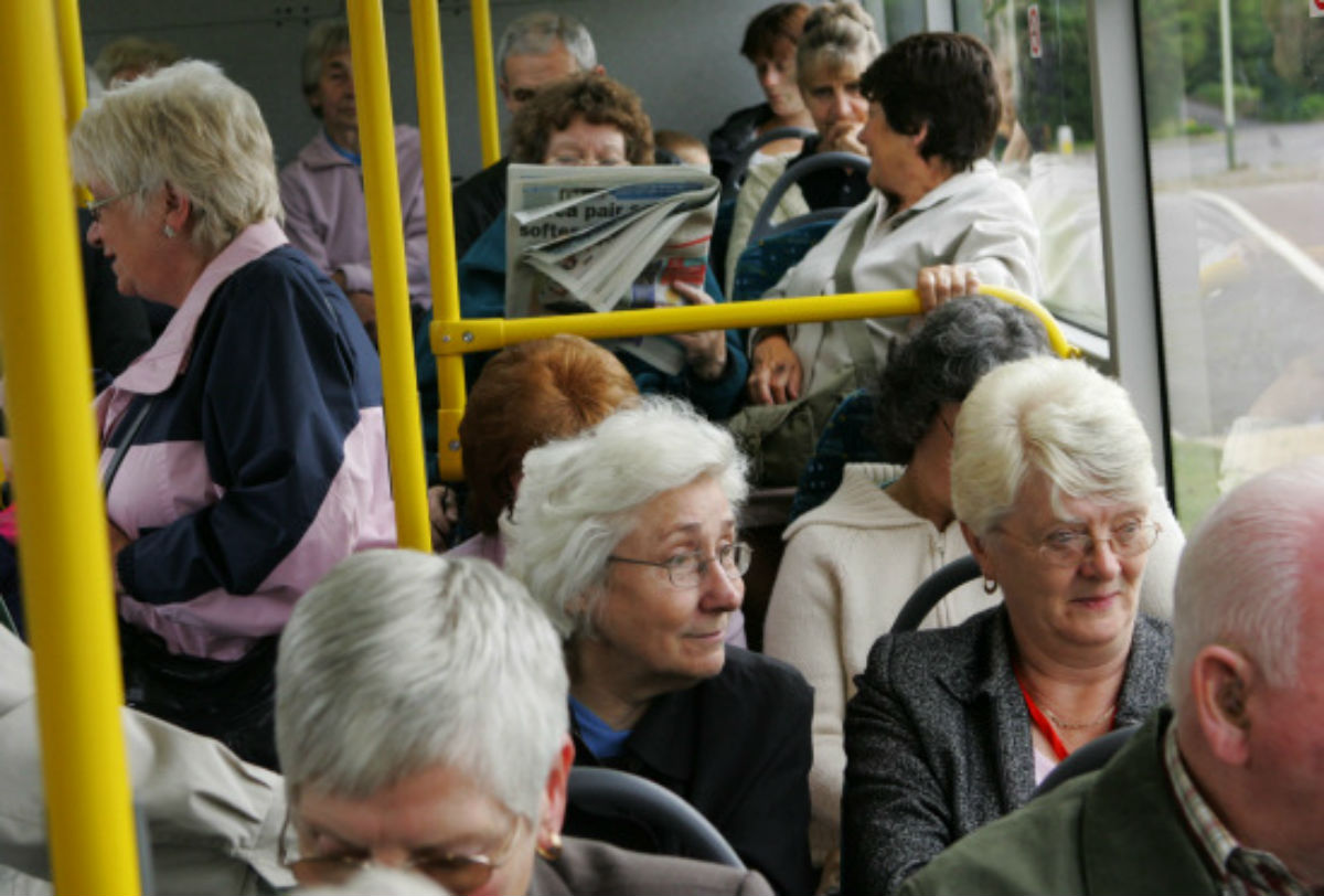 FARE CALL: Pensioners facing the loss of lifeline bus services are calling to be allowed to contribute towards them.
