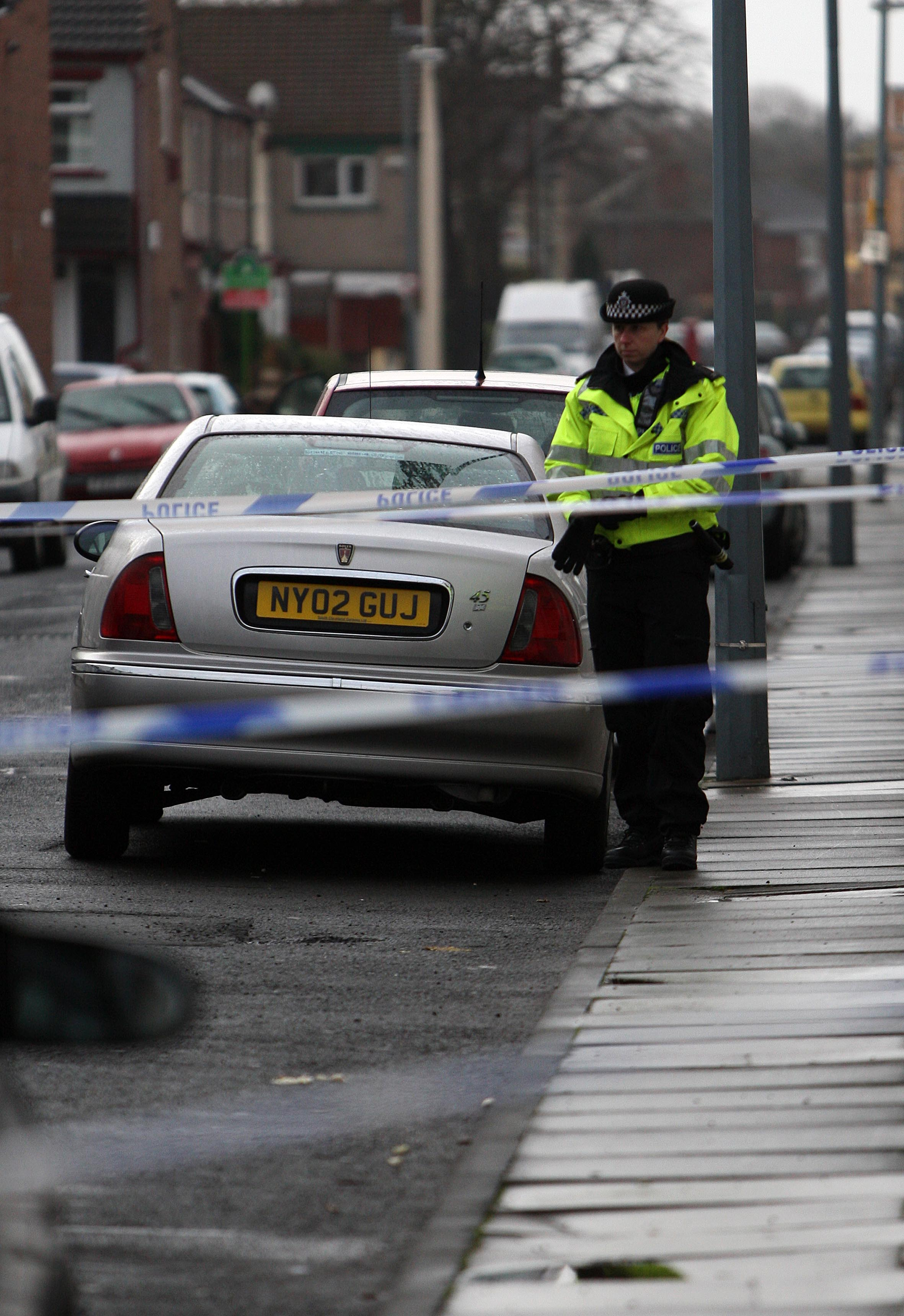 Police seal off Carlow Street in Middlesbrough as part of murder investigation