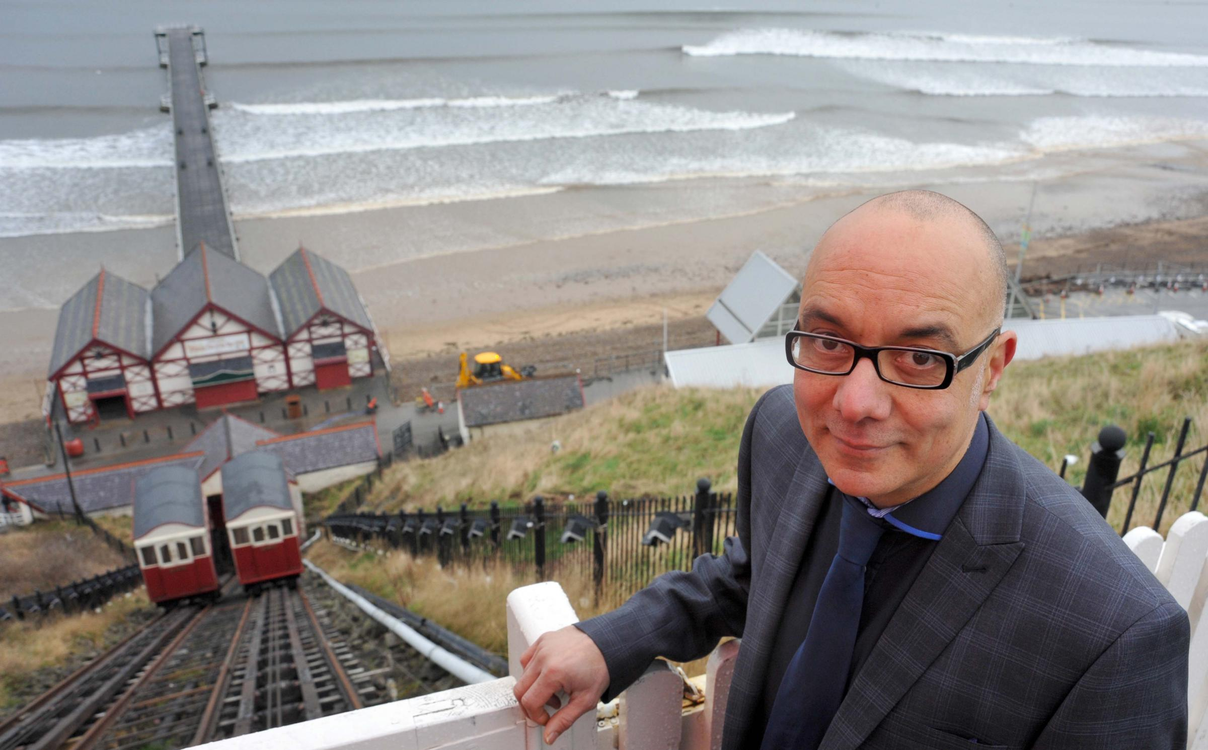 Saltburn businessman Gregory Sills celebrates winning new contract