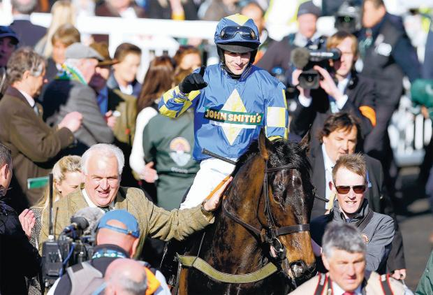 Darlington and Stockton Times: PROUD MOMENT: Auroras Encore wins the Grand National since