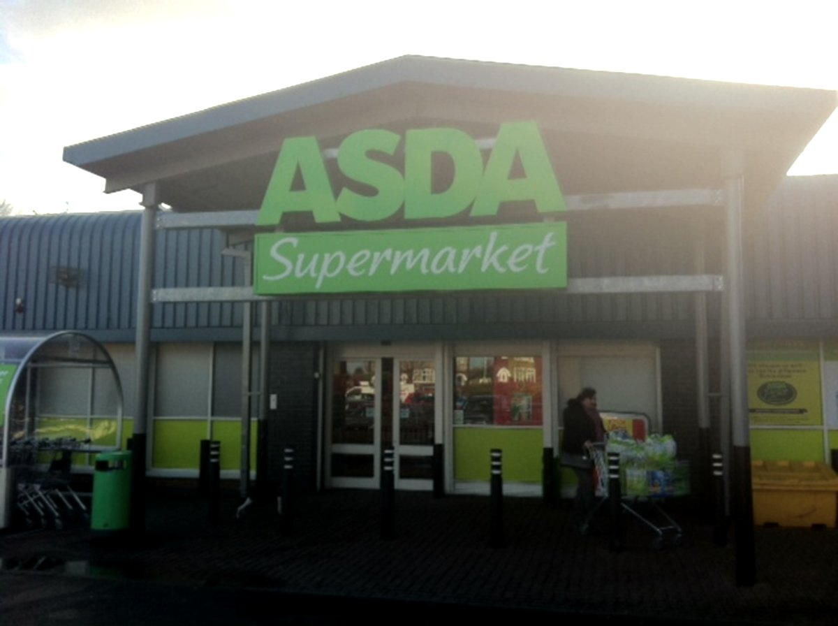 OVERNIGHT RAID: The Asda store in Haughton Road, Darlington