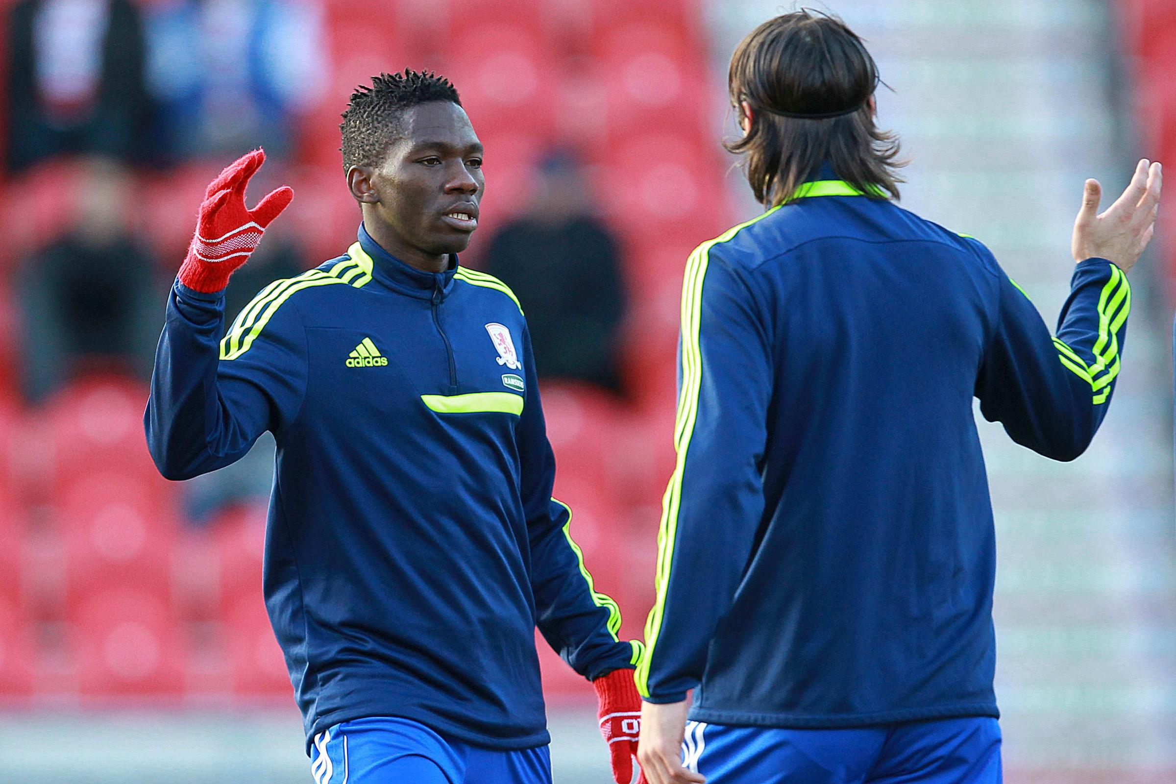 CENTRAL STRENGTH: Aitor Karanka feels Kenneth Omeruo will establish himself as a central defender as his career develops