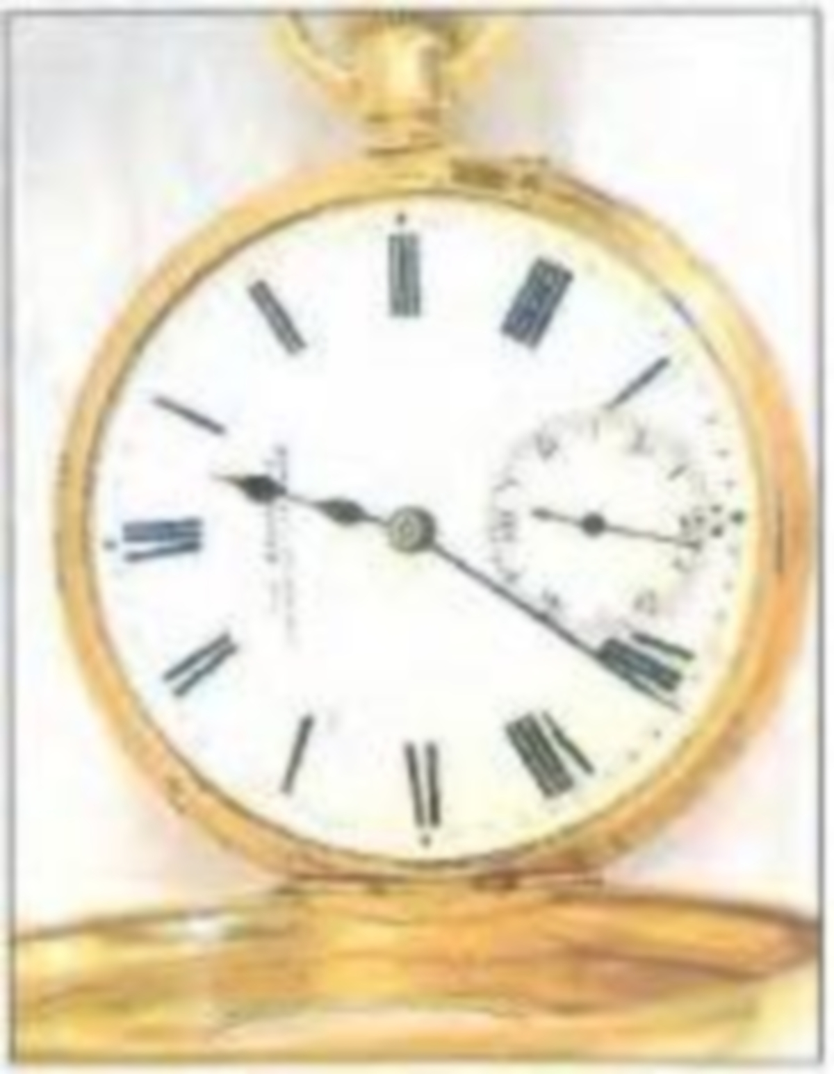 Half hunter pocket watch stolen in burglary