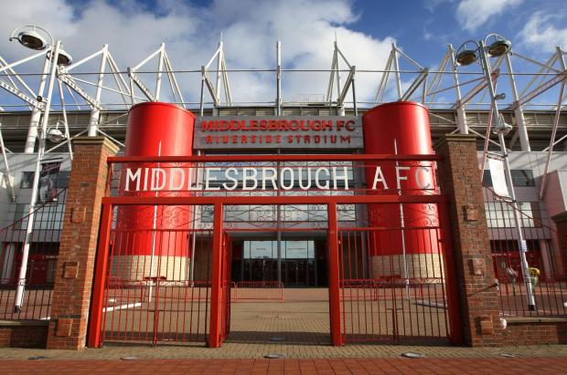 Middlesbrough FC left red-faced after failing to pay bill