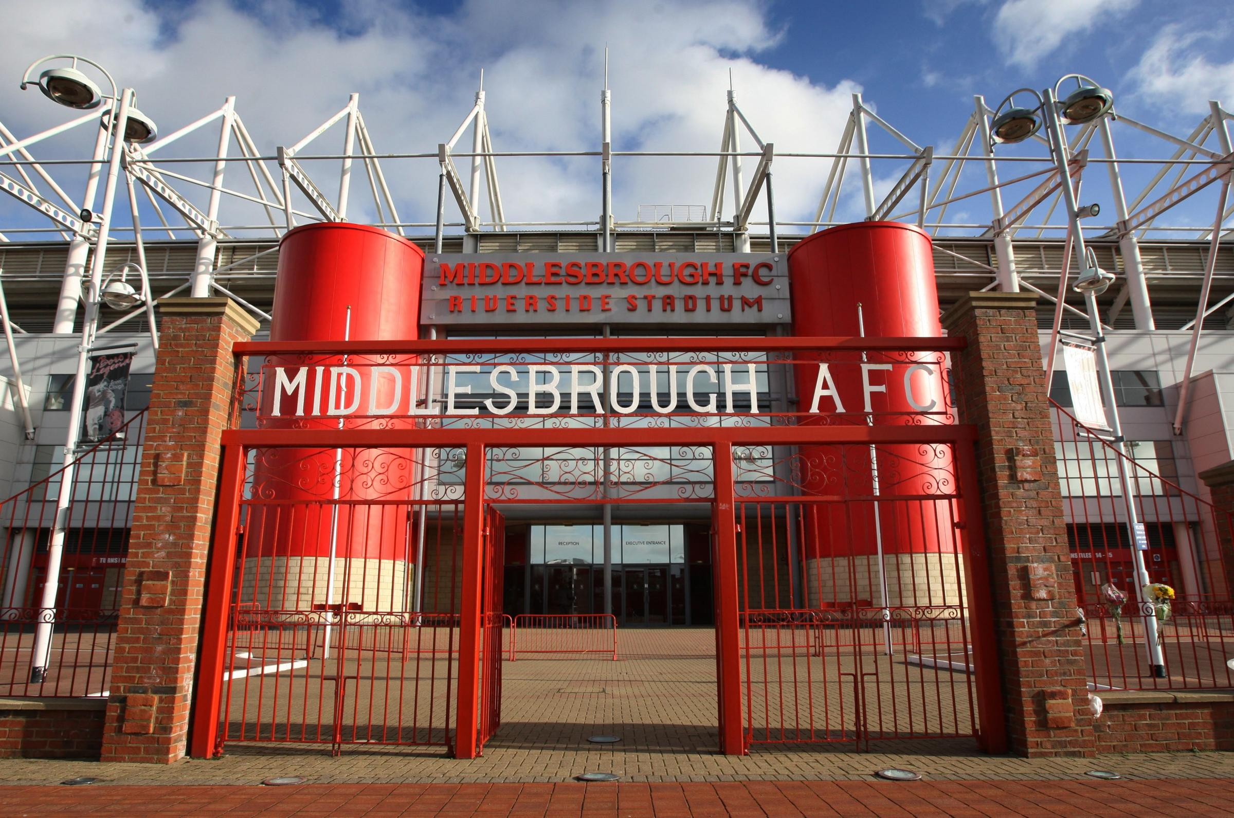 Top officers at Cleveland Police enjoyed hospitality at Middlesbrough's Riverside Stadium.
