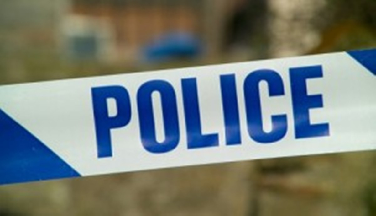 Police question two men after garage burglary