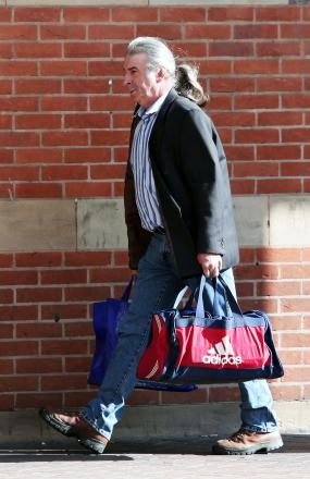 Raymond Shepherd arriving for  a  hearing at Teesside Crown Court last year
