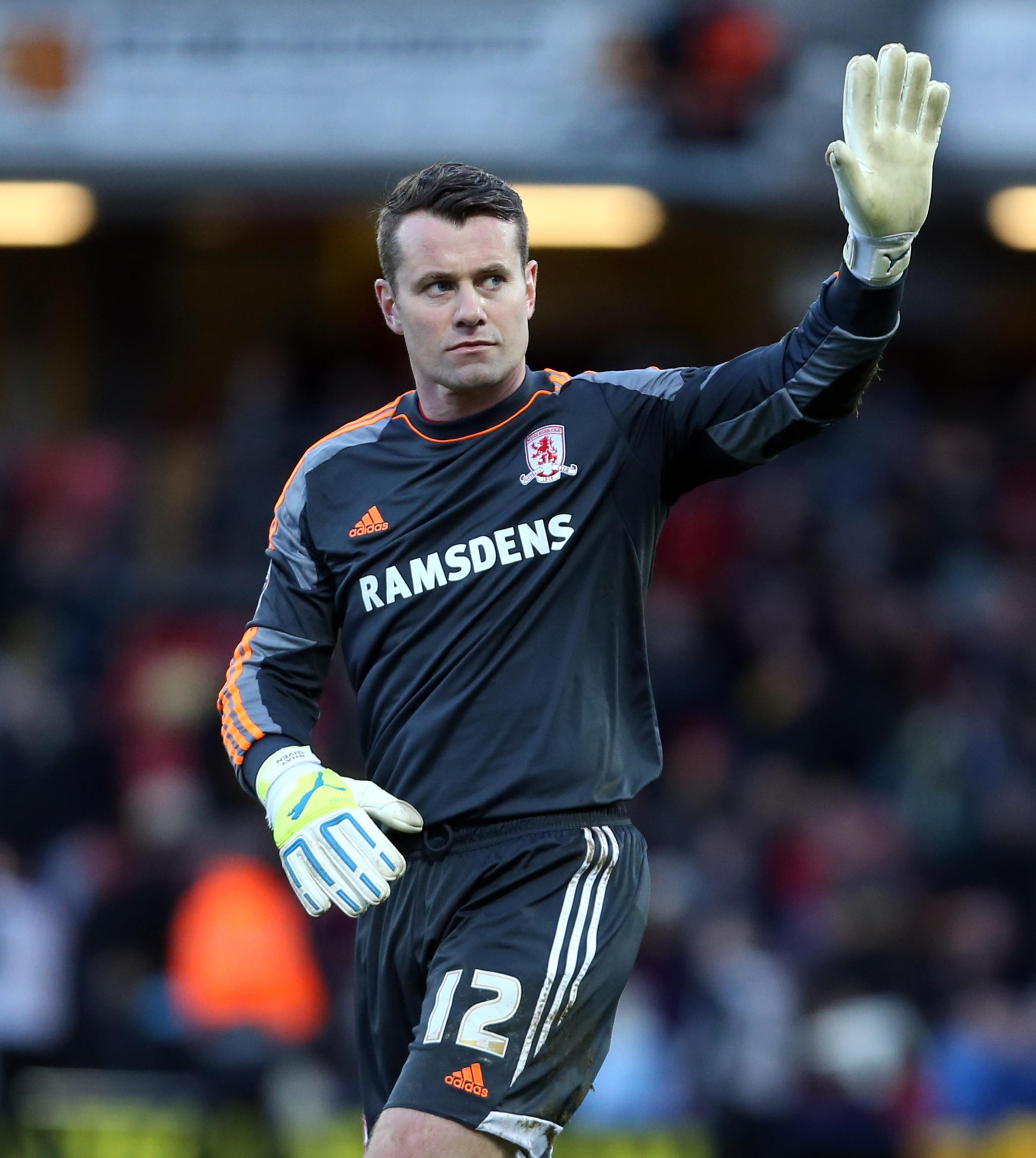 LAST GAME: Shay Given says his farewells