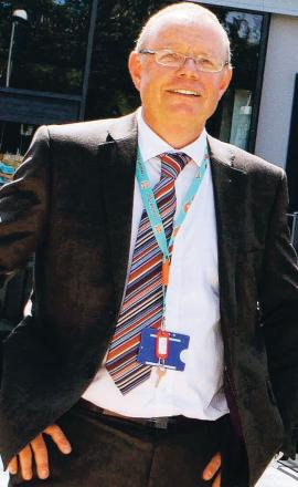 DEFENDED RECORD: Headteacher Ian Robertson