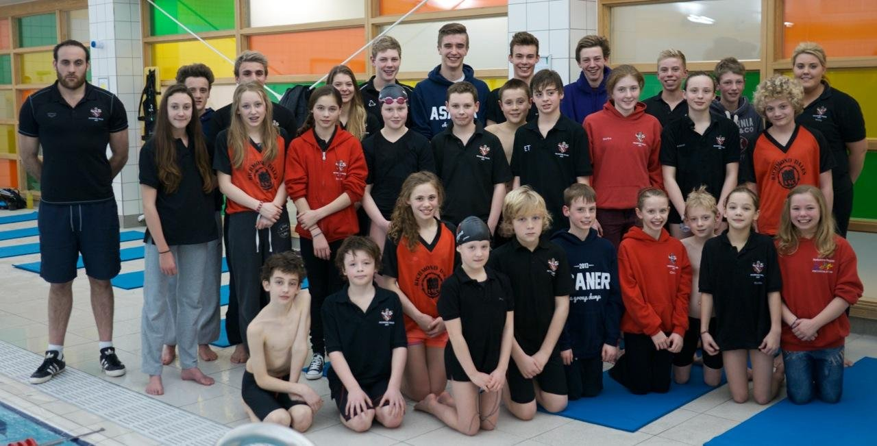 SUNDERLAND SUCCESS: Richmond Dales ASC swimmers who were in action at the Northumbria and Durham Sprint Team Championships earlier this month