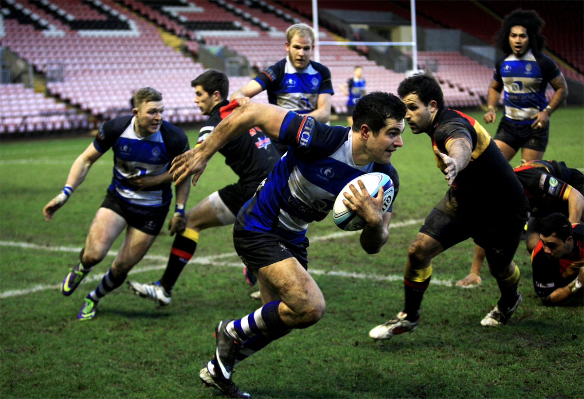 TIME TO SHINE: Cameron Mitchell in action for Darlington Mowden Park earlier this season