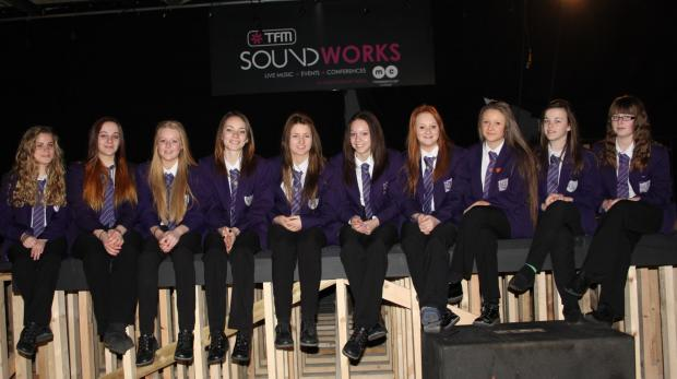 Unity City Academy performing arts students, who will open a summer gig at TFM Soundworks