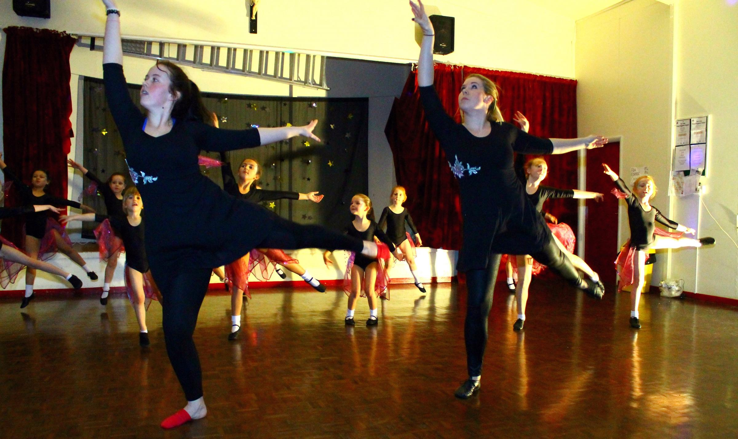 Community school's first dance show is a big hit