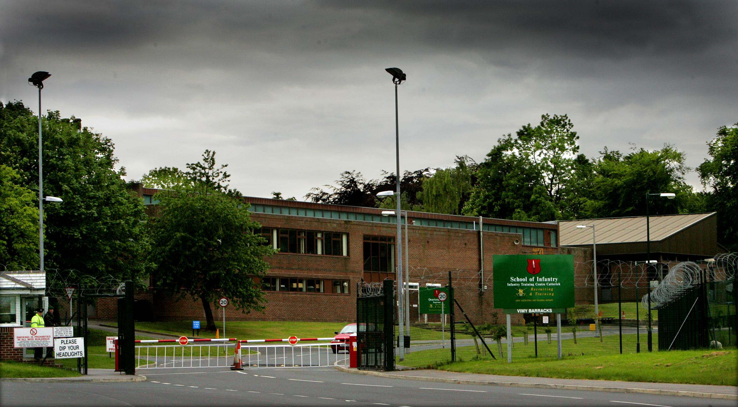ALLEGED FRAUD: Photographer John Hardy denies fraud at the Infantry Training Centre, Catterick Garrison.