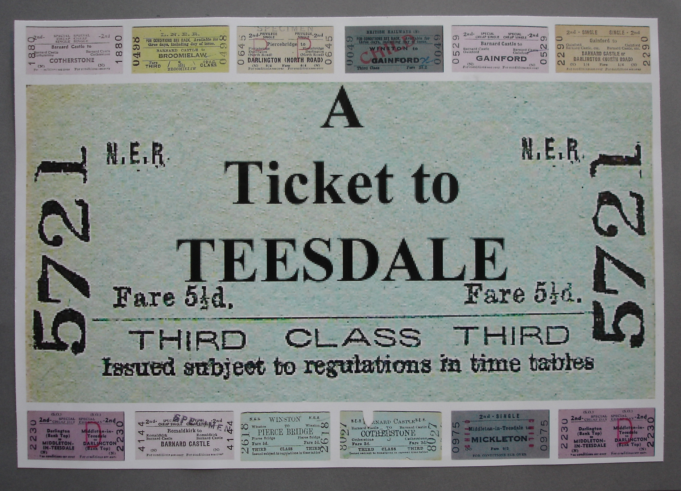 A ticket to Teesdale