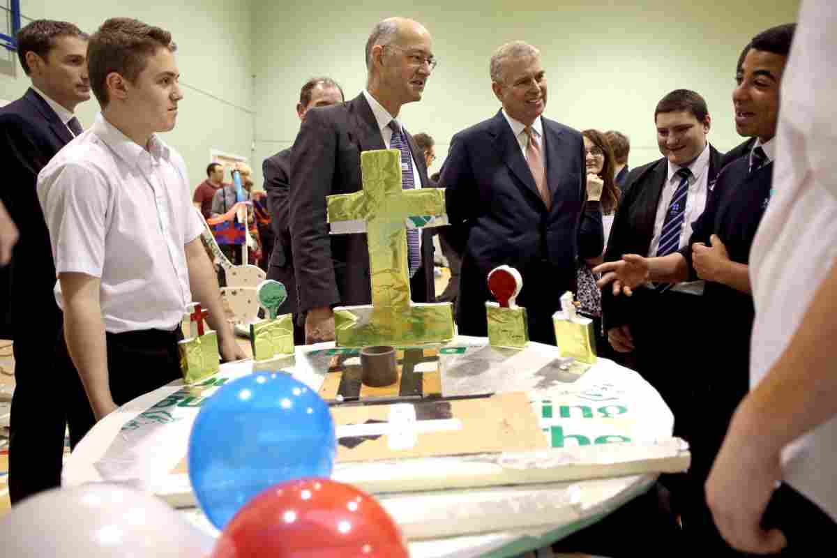 Hovercraft racing and a delve into sub-sea engineering for Royal visitor