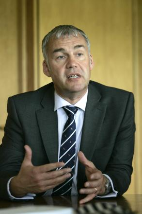 Chief executive David Harker