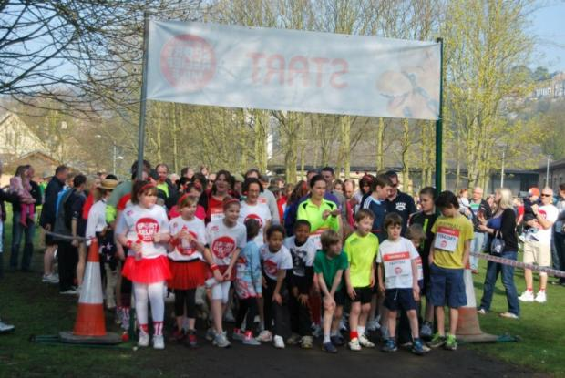 Last year's Sport Relief Mile in Richmond