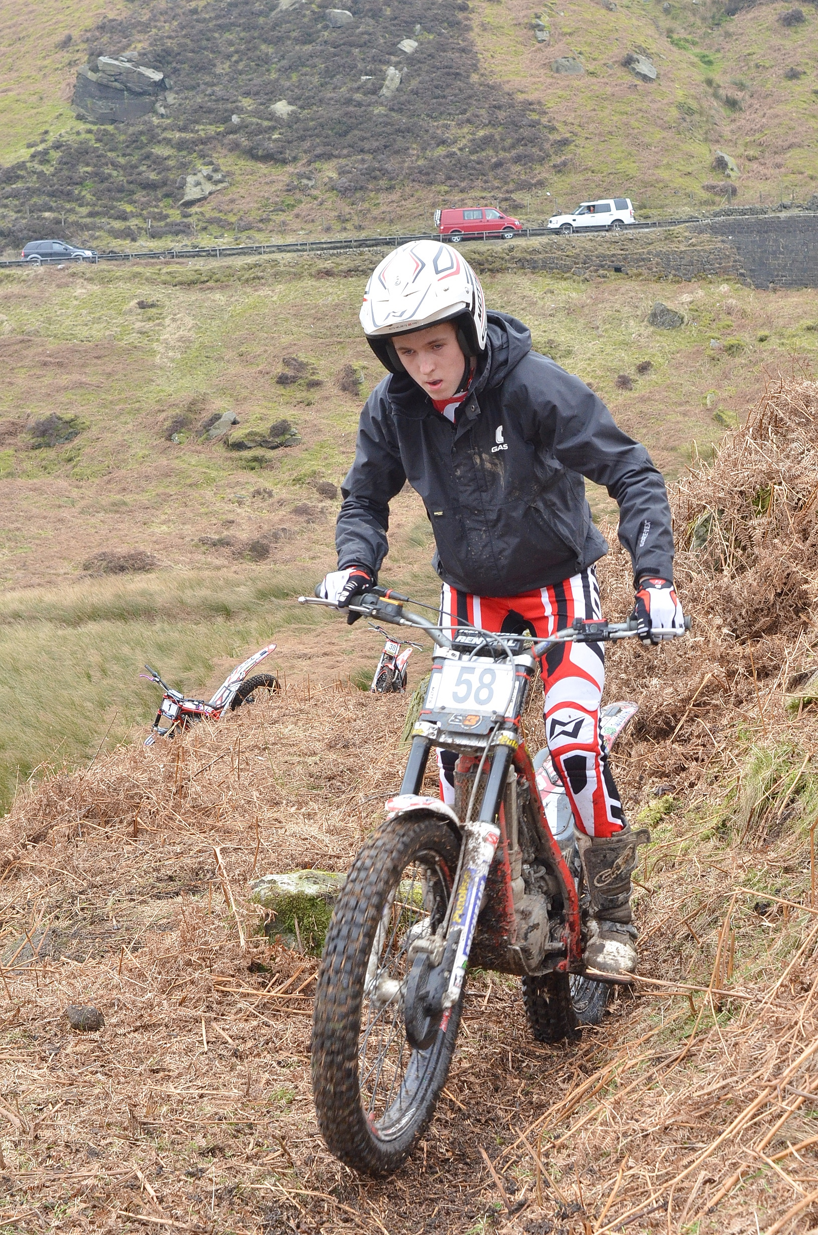 INTERS VICTORY: Jack Stones in action in the DMC Basic Memorial Trial at Blubberhouses over the weekend