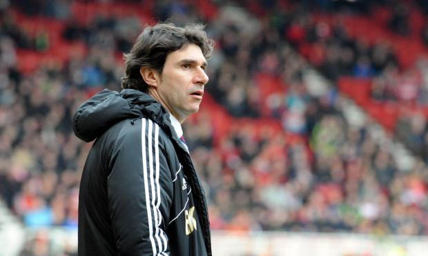 Darlington and Stockton Times: MIXED FEELINGS: Aitor Karanka
