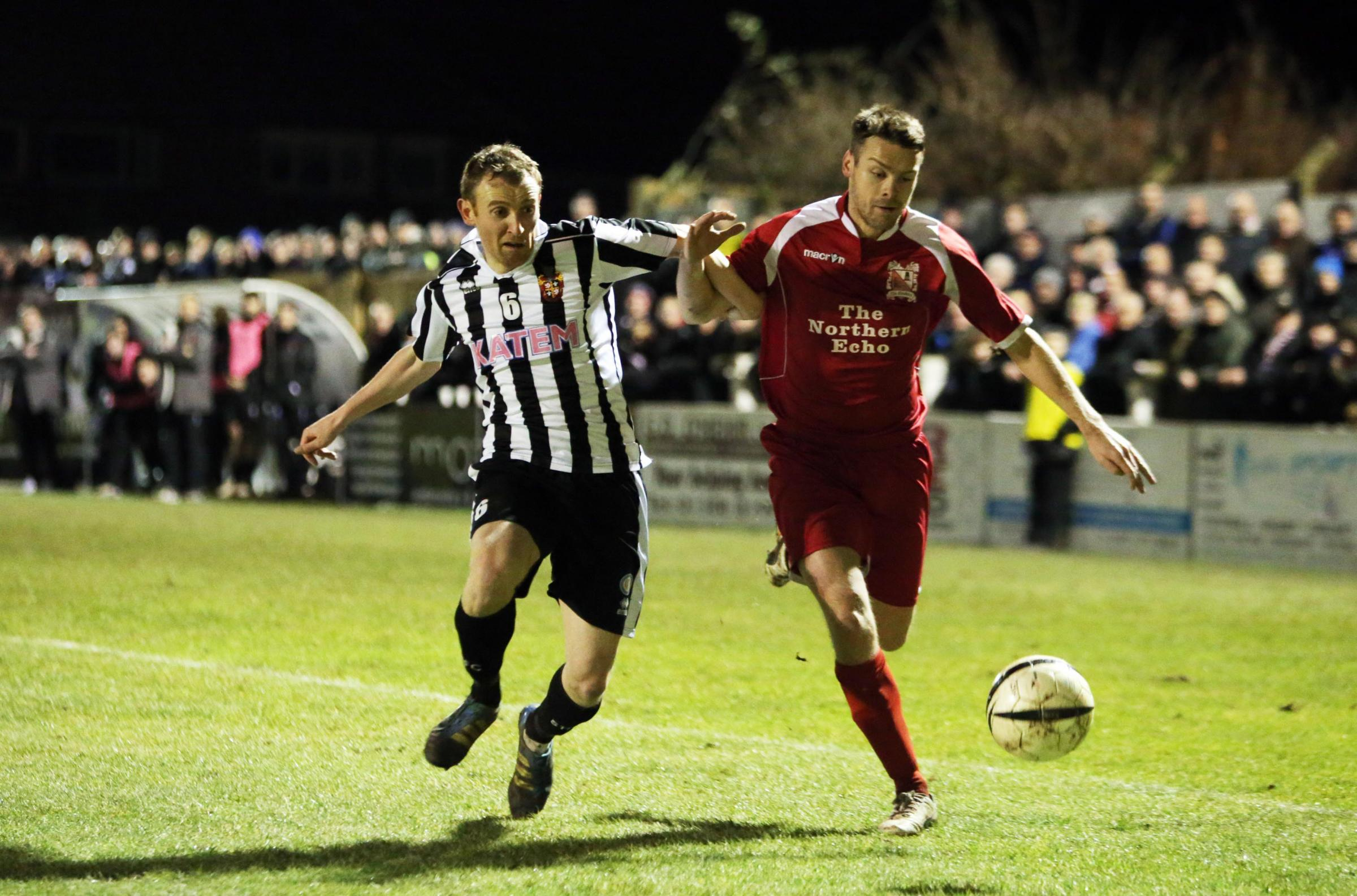 REPEAT SHOW: Darlington last season won a key game at Spennymoor, and Martin Gray wants a repeat this evening
