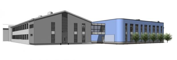 The proposed new extension, by Ryder Architecture, the original designers of Gillbrook Academy, which opened in 2012.