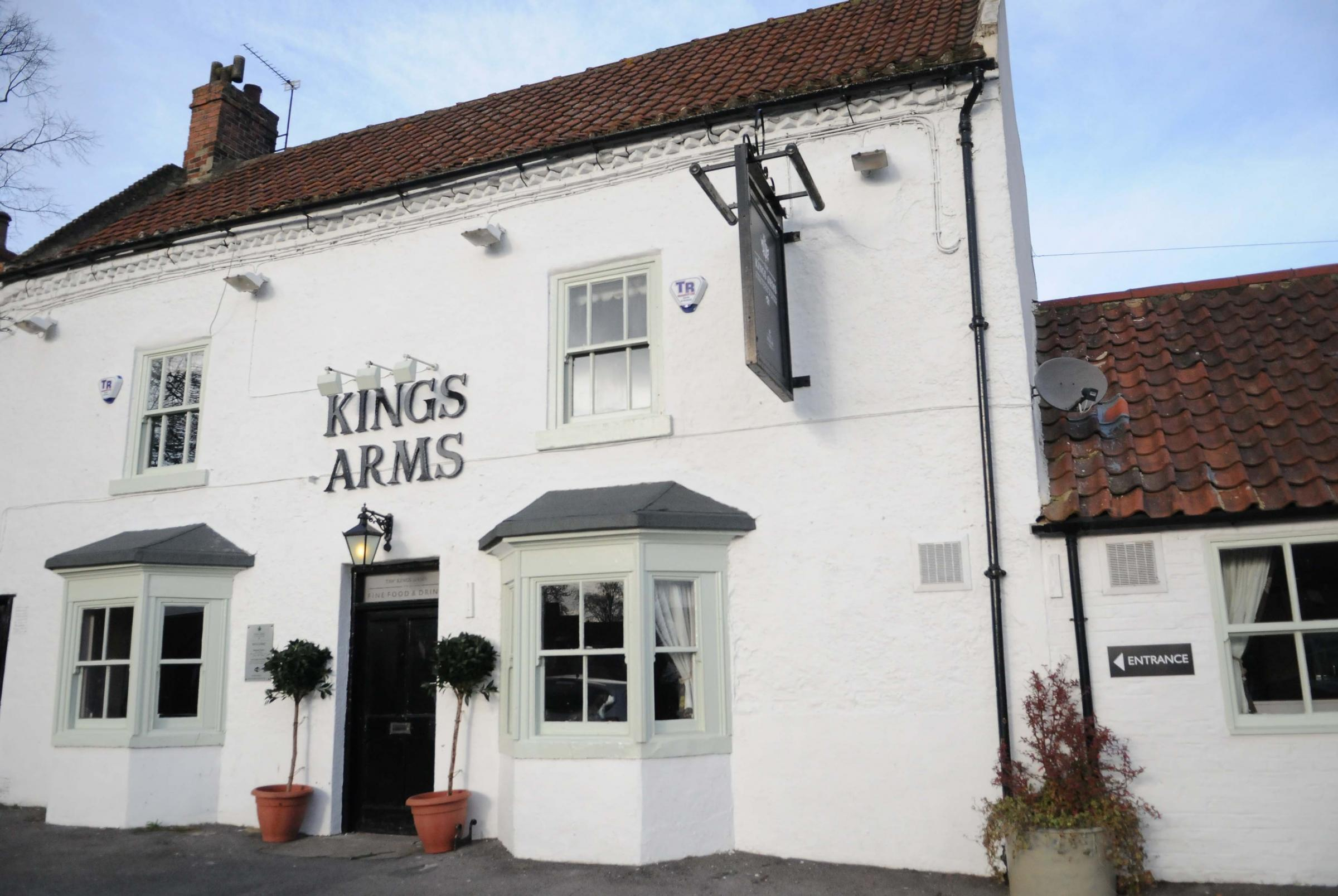 The Kings Arms, in Great Stainton, near the proposed houses