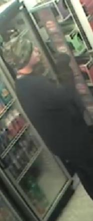 CCTV image of robbery in Middlesbrough