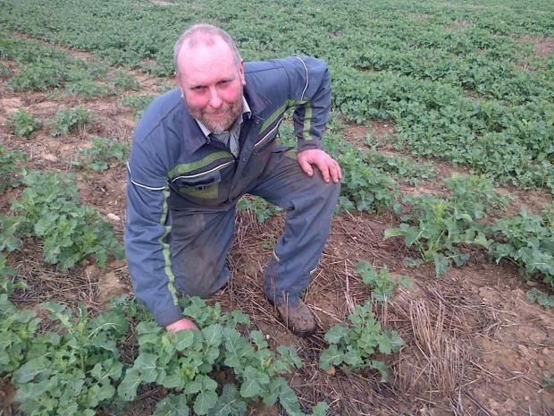 GROWING NETWORK: Phil Meadley has joined the monitor farm scheme run by HGCA