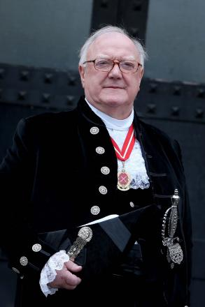 New High Sheriff of County Durham Gerald Osborne after Monday's swearing in ceremony