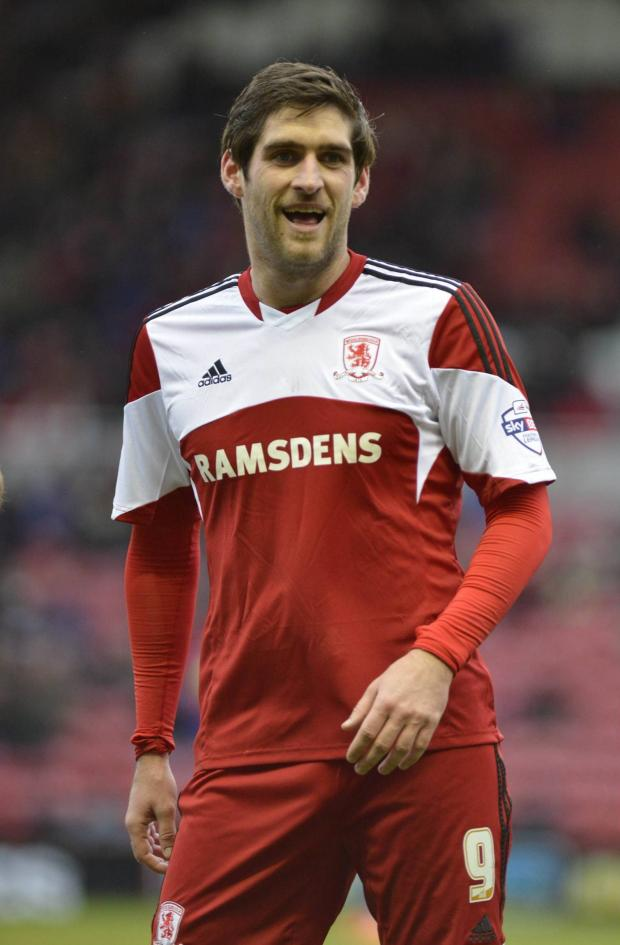 Darlington and Stockton Times: LOAN OVER: Danny Graham played the final game of his loan spell from Sunderland as Middlesbrough beat Yeovil 4-1 at the weekend