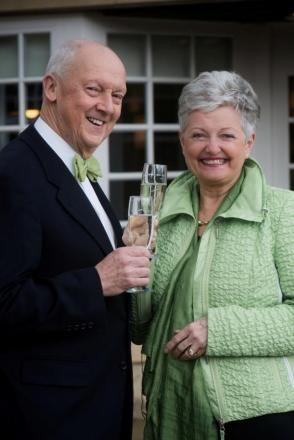 Peter Philips and Barbara-Anne Johnson, who are celebrating their 20th anniversary of owning The Morritt Hotel, in Greta Bridge