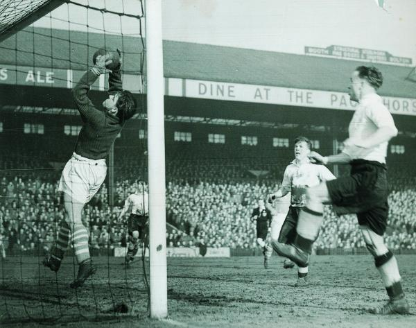 FORMER STAR: Rolando Ugolini was a popular player for Middlesbrough in the 1940s and 50s