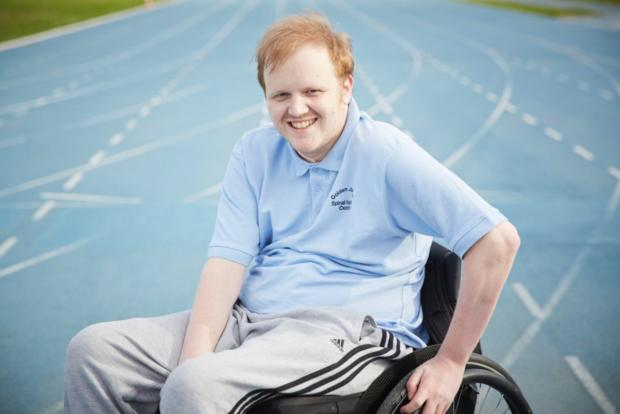Darlington and Stockton Times: Mark Bonnar who competed at the Inter Spinal Unit Games.