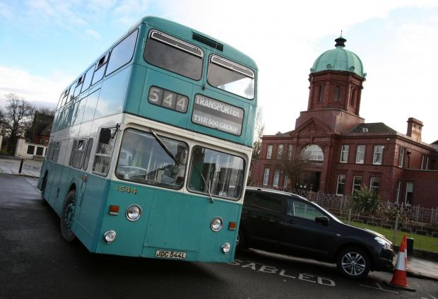 Darlington and Stockton Times: A vintage bus from a previous year's event