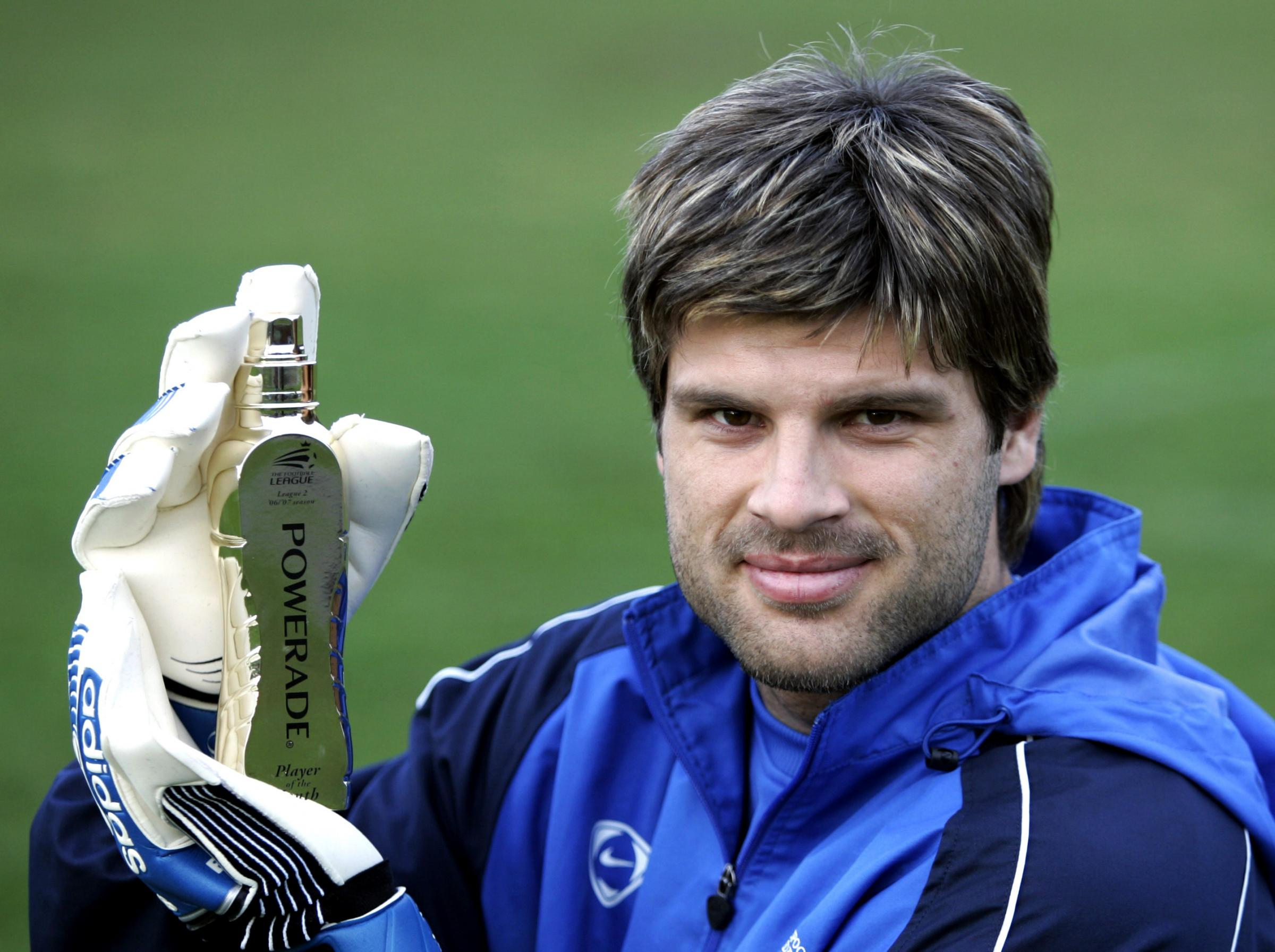 OUT OF CONTRACT: Boro keeper Konstantopoulos