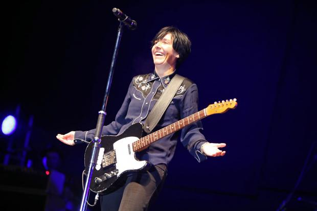 Sharleen Spiteri of Texas during a performance at Hardwick Live in Sedgefield last year