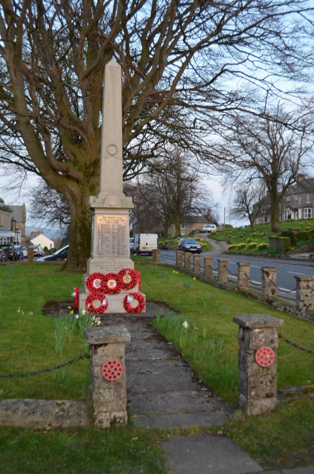 Darlington and Stockton Times: Village groups' joint bid for National Lottery cash to renovate war memorial